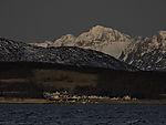 Polarmorgen auf Insel Haaköya