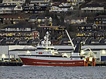 trawler Hermes in harbour of Tromso