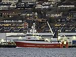 Trawler Hermes im Fischereihafen von Tromsö