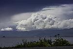 Quellwolken über Kvalöya