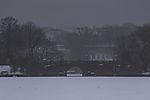 Feenteichbrücke an der Alster im Winter