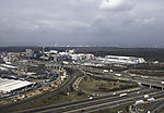 highway crossing near Frankfurt airport