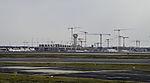 construction site on Frankfurt airport