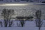 Trockengestell für Fisch auf Insel Haaköya