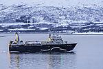 russischer Fischdampfer Mys Sheltinga bei Tromsö