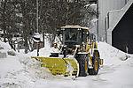 Schneeräumen in Tromsö