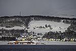 Schnee auf Haaköya