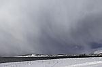 Schneewolken über Haaköya