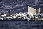 salmonfood freighter Aqua Fjell in Tromso
