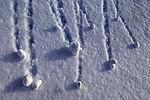 Minilawinen in Tromsö