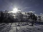 Wintersonne in Tromsö