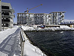 Großbaustelle in Tromsö