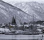 Eismeerkathedrale on Sportboote in Tromsö