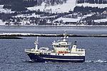 Fischdampfer Fanöyvaag im Sandnessund