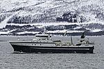 trawler Langöy off Tromso