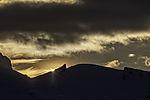 Sonnenuntergang auf Lille Blaamannen