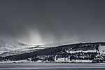 Schneeschauer über Haaköya