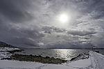 kalte Sonne über Sandnessund