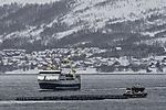 Schleppverband trifft   Trawler