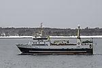 Trawler Gadus im Sandnessund