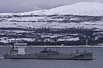 Zementfrachter Ireland bei Tromsö