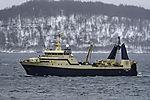 Trawler Atlantic Star im Sandnessund
