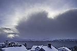 heraufziehender Schneeschauer
