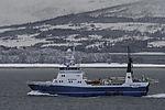 Trawler Båtsfjord in Sandnessund
