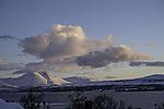 Wolken über Bentsjordtinden