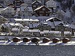 Bootshäuser im Tromsö
