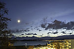 spring Moon over Tromso