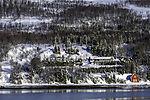 Schneelandschaft in Nordnorwegen
