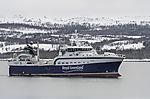 grönländischer Trawler Sisimiut bei Tromsö