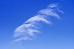 weiße Wolken in blauem Himmel
