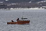 oil recovery boat