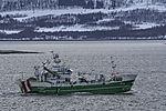 trawler Arnöytind near Tromso