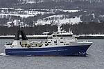 trawler Havtind near Tromso