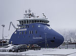 Expeditions- und Foschungsschiff M ( expedition- and research vessel M )