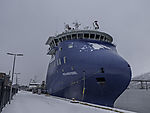 S Polarsyssel in Tromsö ( expedition- and research vessel M )