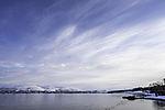 Federwolken über Kvalöya