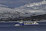 fish carrier Steigen near Tromso