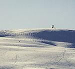 ski piste on mount Finnlandsfjellet