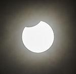 penumbral solar eclipse over Hamburg