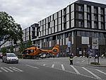 Rettungshubschrauber vor Universitätskrankenhaus Eppendorf