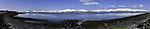 spring in northern Norway near Tromso panorama
