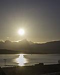 evening sun on island Kvalöya