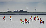 sail boarder in Norddeich