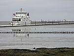 Frisia ferries near Norddeich