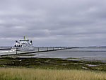 Fähre Frisia III nahe Hafen von Norddeich
