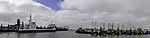 Norddeich Hafenpanorama